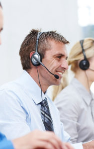 answering service representative